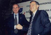 Alain LAMASSOURE avec Román SUDUPE, Député général du Gipuzkoa(1997)